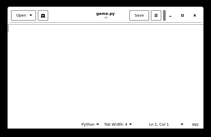 lab 2) intro to Python/PyGame